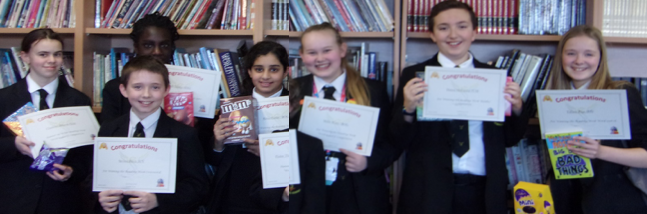 Stewards Academy celebrates reading week  with their diaries