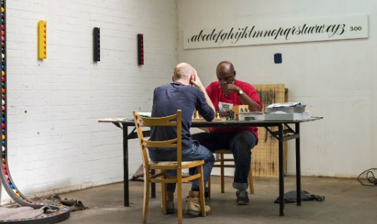 Play chess with Cedric at the Gibberd Gallery