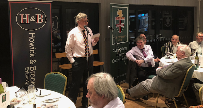 Cricket: Former Essex star guest of honour at Harlow CC spring supper
