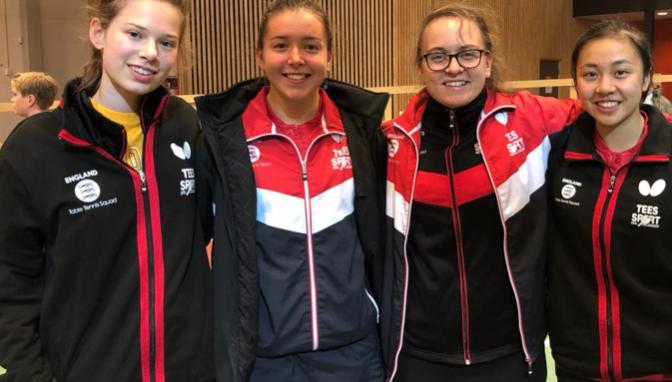 Table Tennis: Women's International set for Harlow