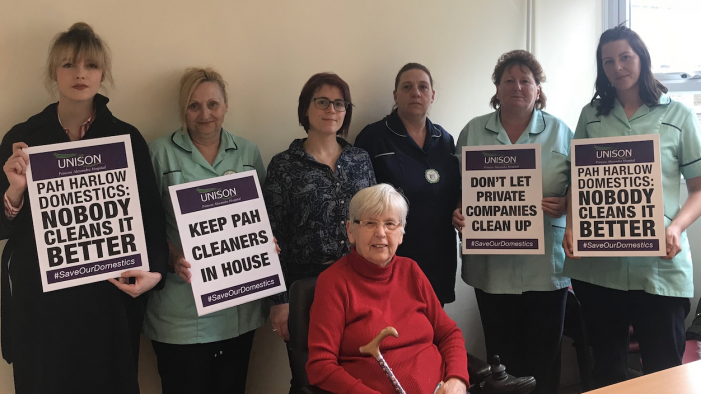 Harlow's parliamentary candidate backs domestic staff campaign at PAH