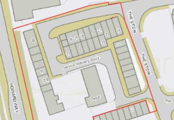Plans for 87 new homes in The Stow