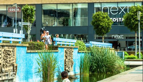 Woman fined for shoplifting from Next in The Water Gardens