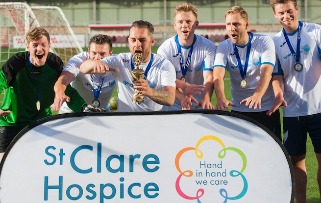 Hospice calls on local businesses to compete for the St Clare football trophy!