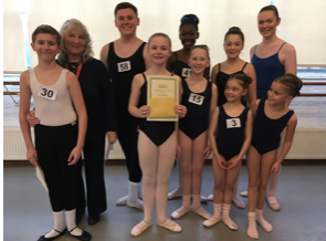 Brenda Taylor School excel at prestigious Royal Academy Ballet competition