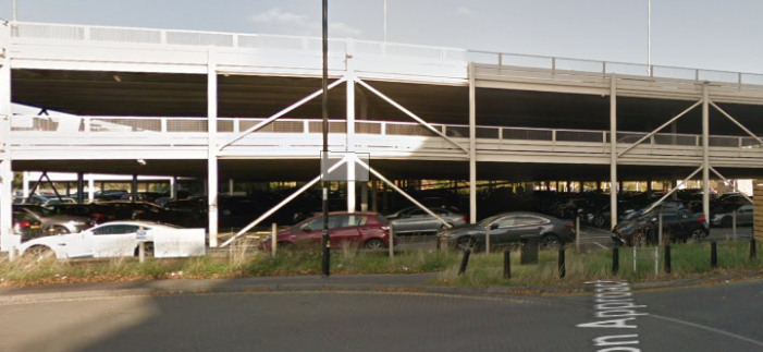 Harlow railway station car park has new number plate technology installed