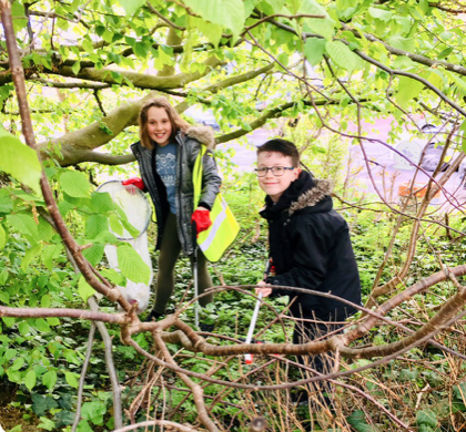Three more Harlow groups get involved in The Great British Spring Clean