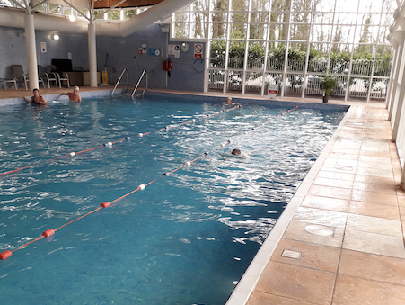 Robert Halfon MP raises £2,000 for Princess Alexandra Hospital through 2.2km sponsored swim!