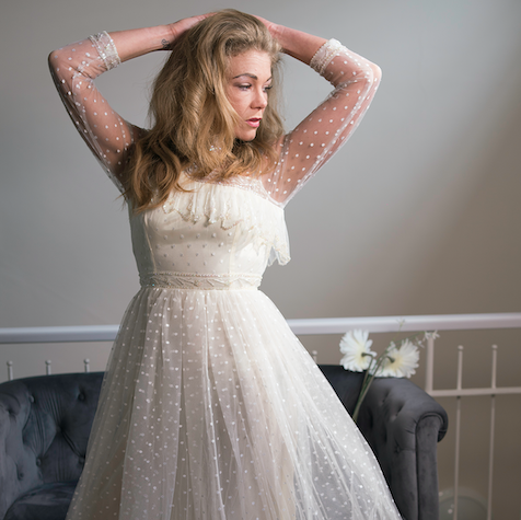 8062f1a3bd Flourishing charity shop, Scarlet Vintage & Retro, launches wedding  collection