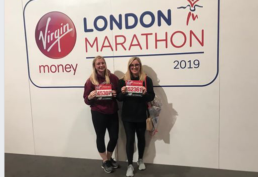Harlow runners get ready for the London Marathon