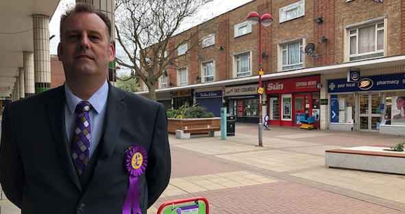 Harlow UKIP candidate defends parties election campaign