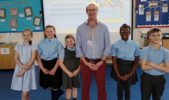 Schoolchildren inspired by teacher who lost eyesight due to brain tumour