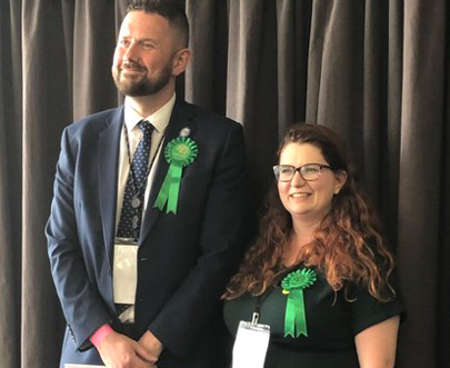 Former Harlow Green candidate wins in Brighton