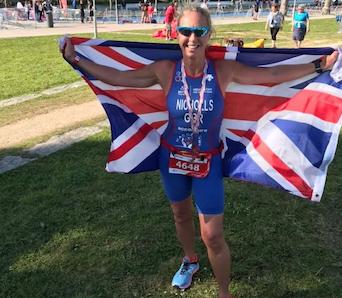 Athletics: Harlow's Gail Nicholls qualifies for World Champs after impressive Aquathlon