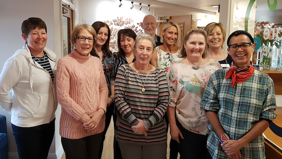 Compassionate neighbours project short-listed for award