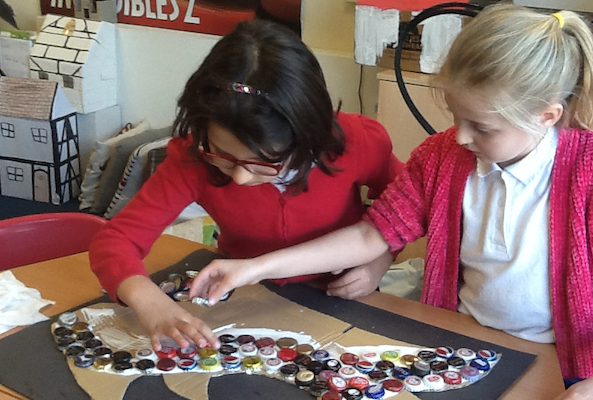 Little Parndon pupils turn rubbish into art