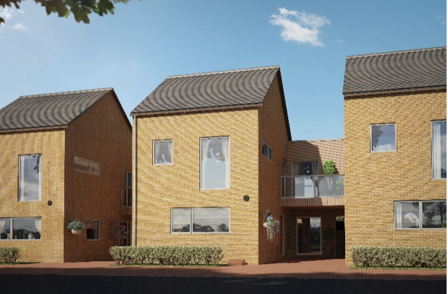 Homes nearly complete in Newhall development