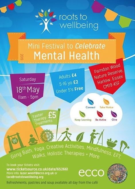 Mini Festival to celebrate Mental Health in Harlow