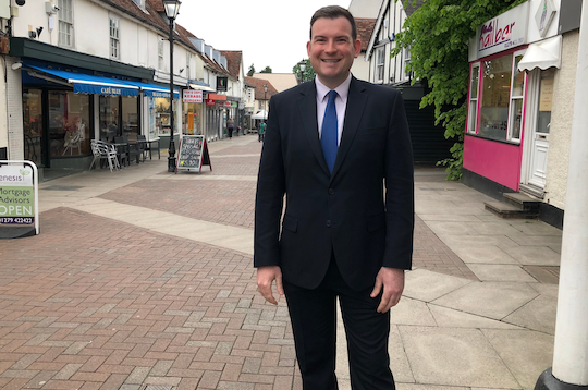 Harlow Conservative explains why he is standing in European Elections 2019