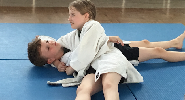 Cooks Spinney offer free Judo classes to pupils