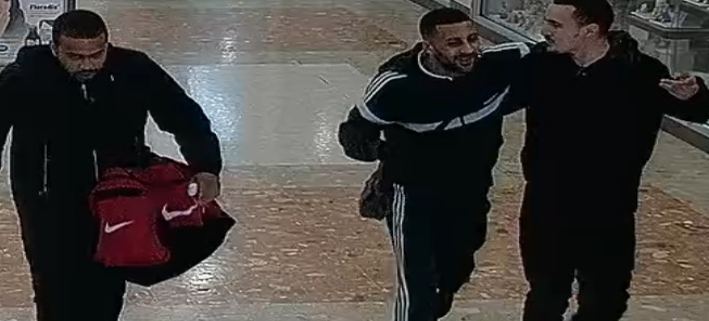 Investigation after theft from Bit Coin machine in the Harvey Centre
