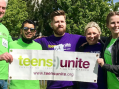 Harlow College team abseils and raise over a thousand for Teens Unite