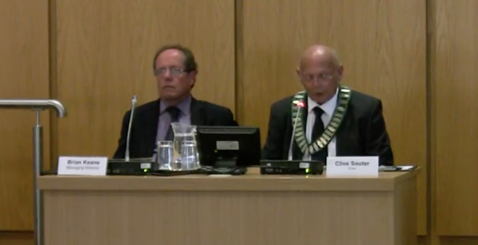 Harlow Council Annual Meeting: Councillor Clive Souter made chair of council