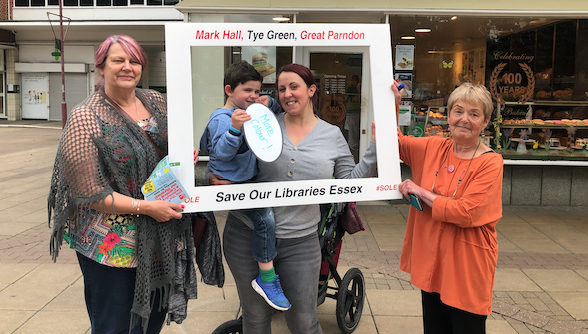 Campaign to save Harlow libraries continues