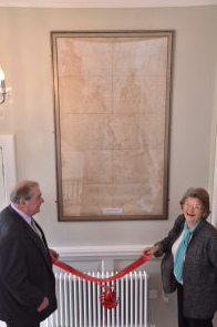Todhunter family return to Kingsmoor House and unveil map of estate