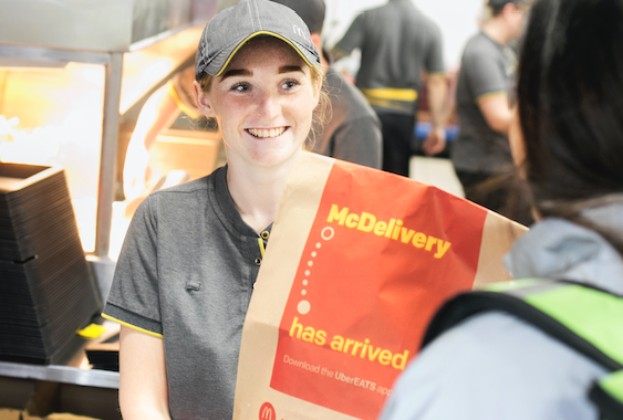 McDelivery expands in Harlow
