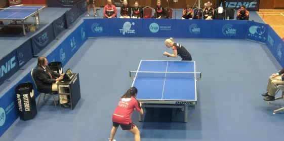International Table Tennis comes to Harlow