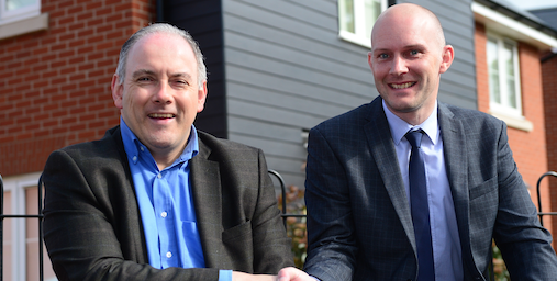 Harlow MP Robert Halfon takes tour of Gilden Way
