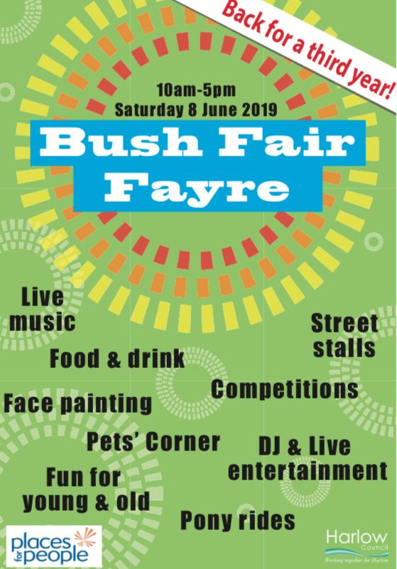 Bush Fair Fayre returns for its third year