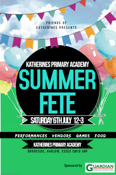 Katherines Primary Academy set to hold Summer Fete