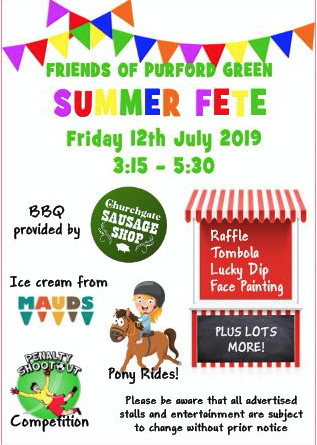 Friends of Purford Green Summer Fete