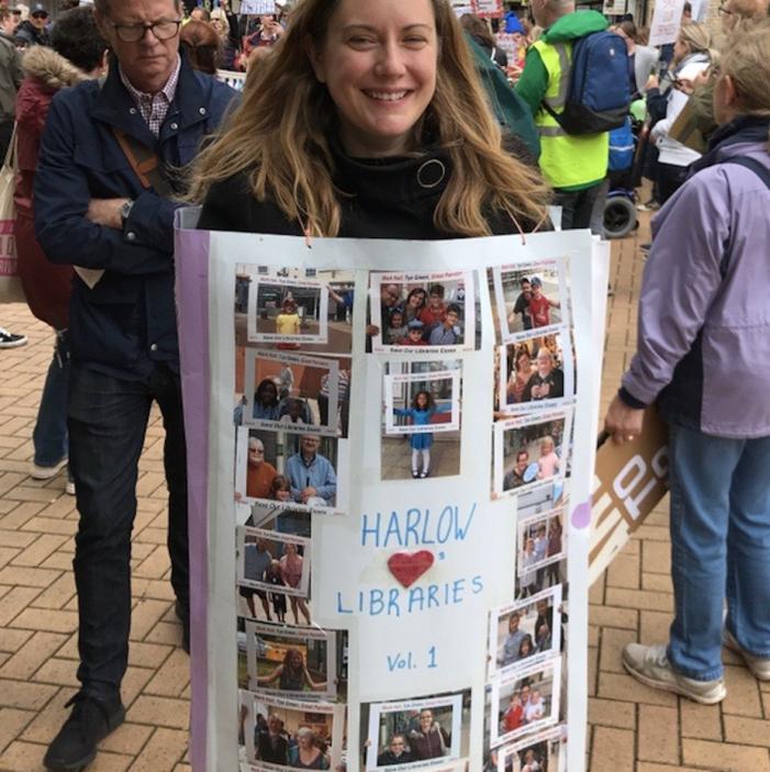 Saving Harlow libraries: In praise of Emma Batrick