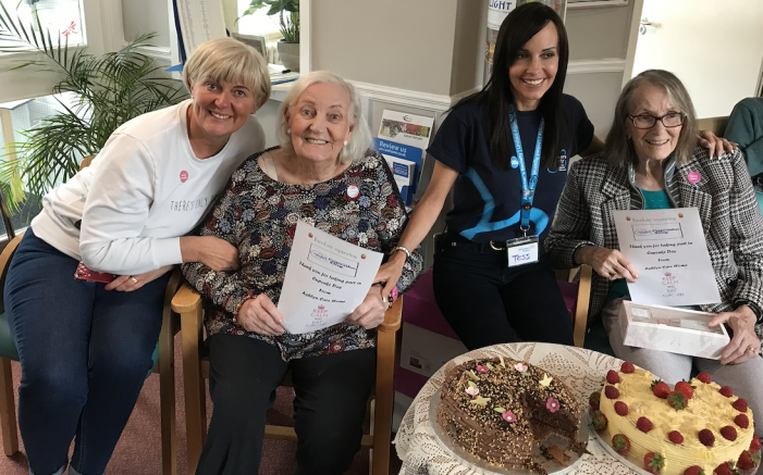 Ashlyns Care Home celebrate National Cupcake Day