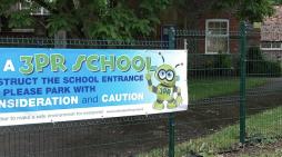Schoolchildren launch campaign over dangerous road