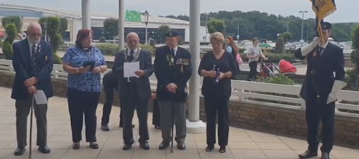 Harlow pays its respects on Armed Forces Day