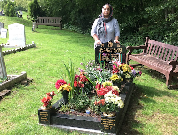 Harlow woman makes plea for control of dogs at Parndon Wood Cemetery