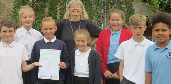 Adopt a Sculpture Programme launches in schools across Harlow