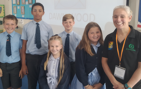 Harlow students inspired by Atlantic rower