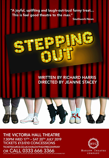 Review: Stepping Out makes giant strides for Harlow Theatre Company