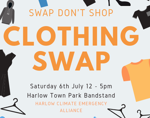 Clothing Swap in Harlow Town Park
