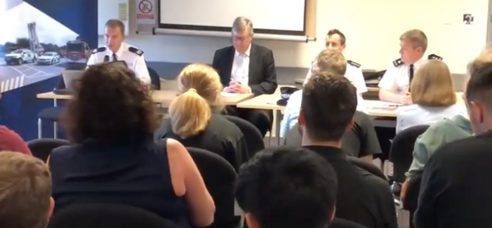 Police and Crime Commissioner hosts meeting in Harlow