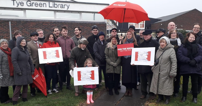 Harlow Labour's 'Save Our Libraries' Campaign Keeps Harlow's Libraries Open
