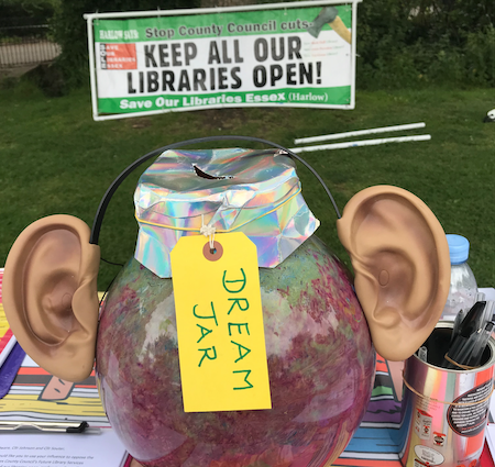 What Harlow people really want from their libraries