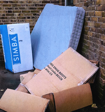 Two fined for dumped rubbish in Harlow