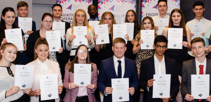 Stansted Airport College launches first Student Celebration Awards