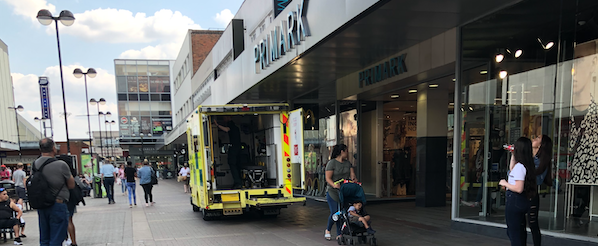 Emergency services attend Primark after toddler seriously injured in lift incident